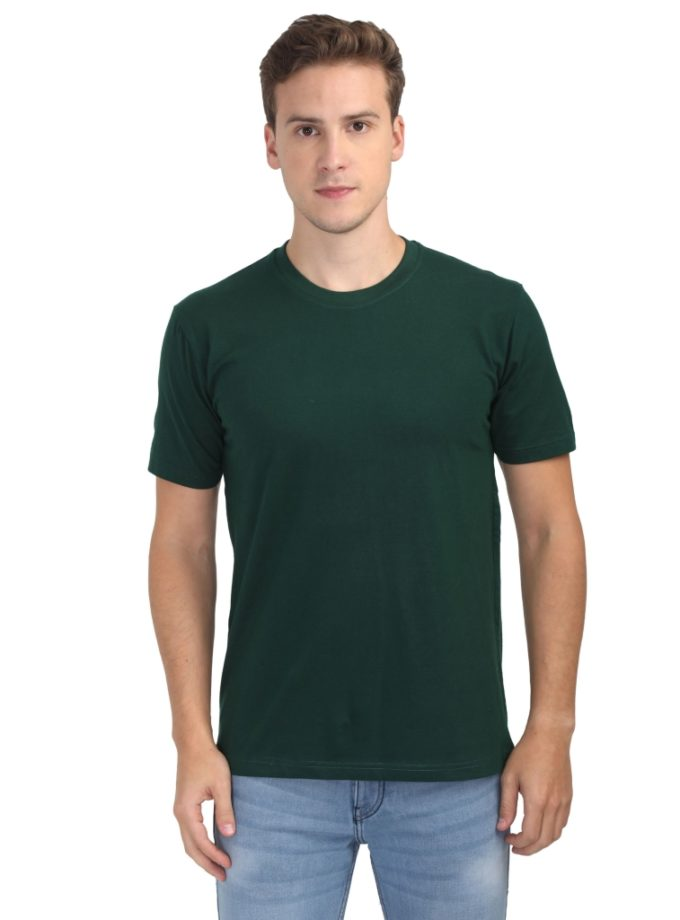 Round neck bio wash  T Shirt unisex men women custom design